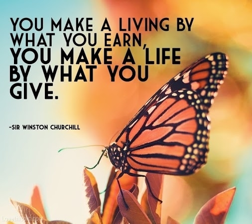 17179-You-Make-A-Life-By-What-You-Give
